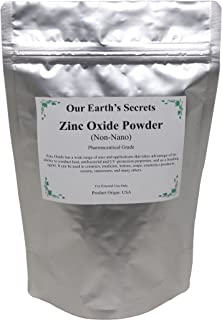 Zinc Oxide 1 Pound Bag - Non-Nano and Uncoated - Our Earth's Secrets
