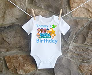 Group Bubble Guppies Birthday Shirt Boys