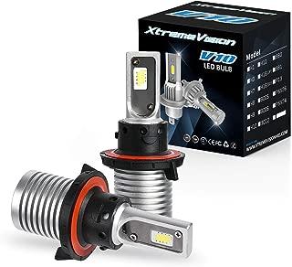 XtremeVision V10 30W 8,000LM - H13/9008 Dual Beam LED Headlight Conversion Kit - 6500K CSP LED - 2019 Model