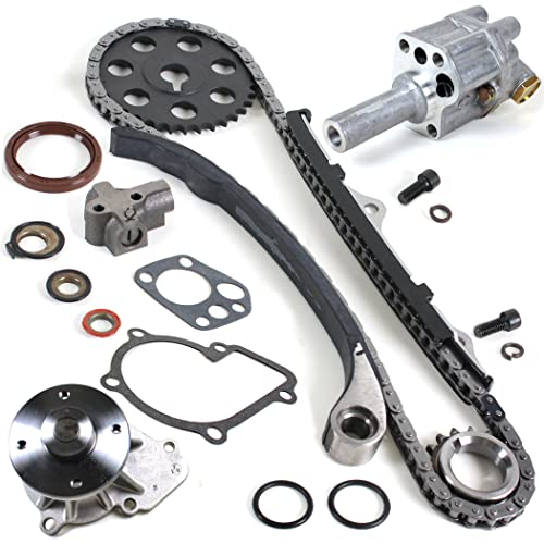 NEW TK10090WPOP Timing Chain Kit, Water Pump Set, & Oil Pump for 90-