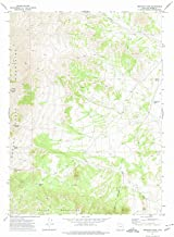 Utah Maps - 1971 Emigrant Pass, UT USGS Historical Topographic Map - Cartography Wall Art - 35in x 44in
