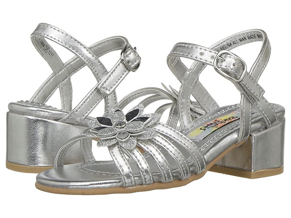 Rachel Kids Lil Melina (Toddler/Little Kid) (Silver Metallic) Girl