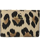 Kate Spade New York - Hyde Lane Leopard Card Holder