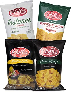 Chifles Assorted Plantain Chips, 4 Pack