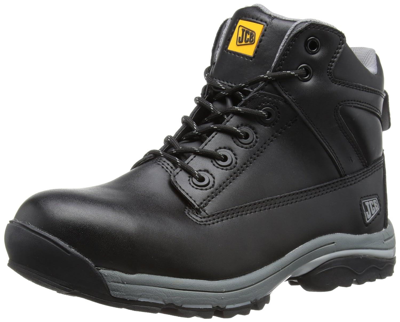 JCB Mens Workmax B Safety Boots Grey