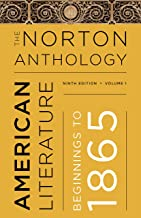 The Norton Anthology of American Literature (Ninth Edition) (Vol. 1)