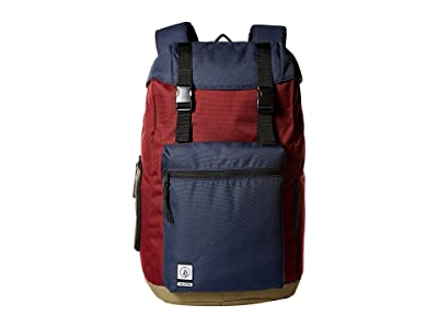 Volcom Ruckfold (Cabernet) Backpack Bags