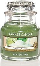 Yankee Candle 5038580018158 Jar Small Vanilla Lime YSMVL