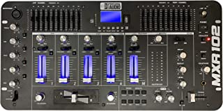 DJ Mixer - 8 Channel – Bluetooth – USB/SD Slot – Sound Effects - Echo – 19