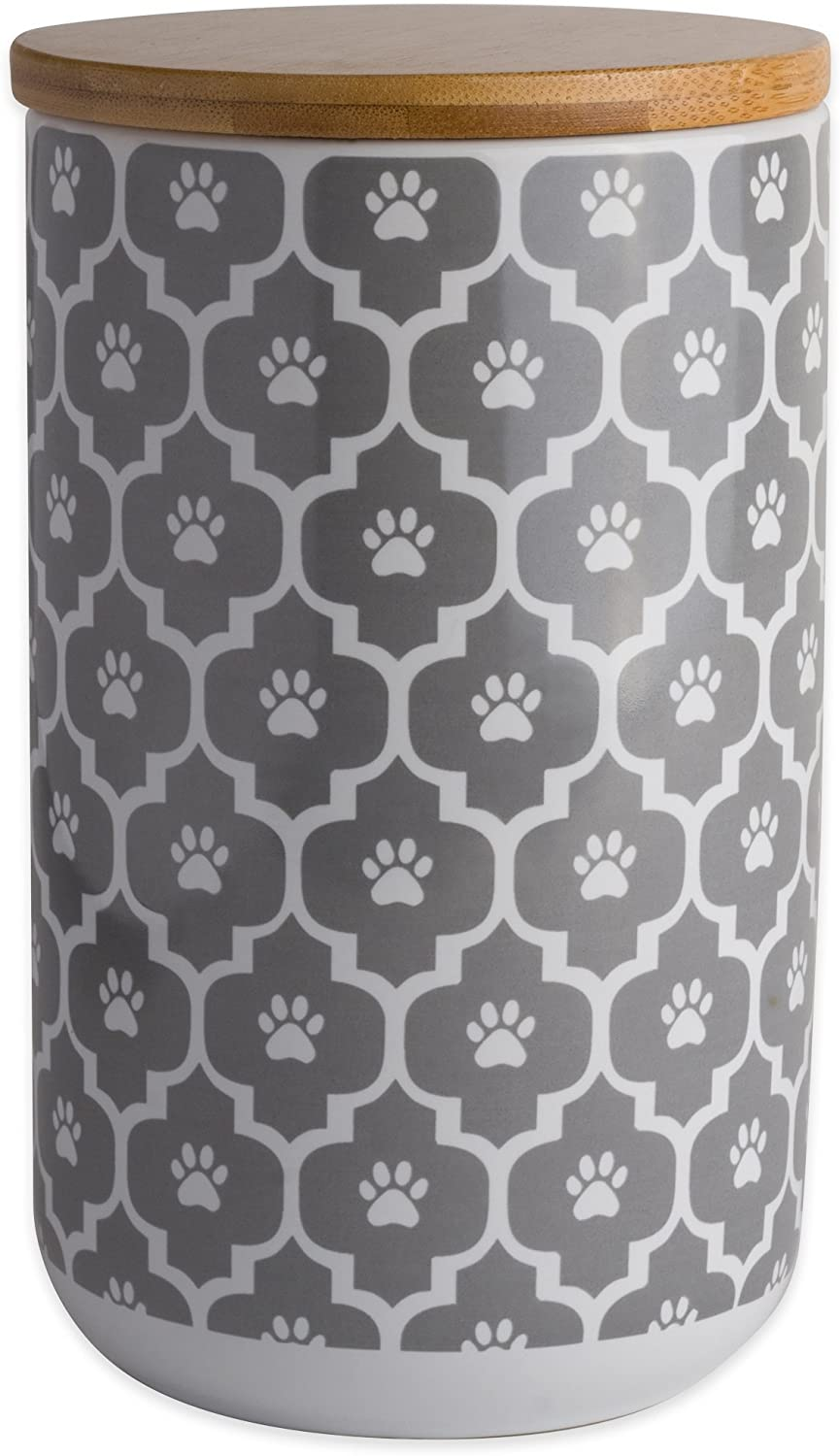 Max 49% OFF Quantity limited Bone Dry Lattice Collection Pet Canister Bowl