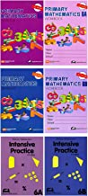 Singapore Math Primary Mathematics Grade 6 Intensive SET (6 Books) --Textbooks 6A and 6B, Workbooks 6A and 6B, Intensive Practice 6A and 6B (US Edition)