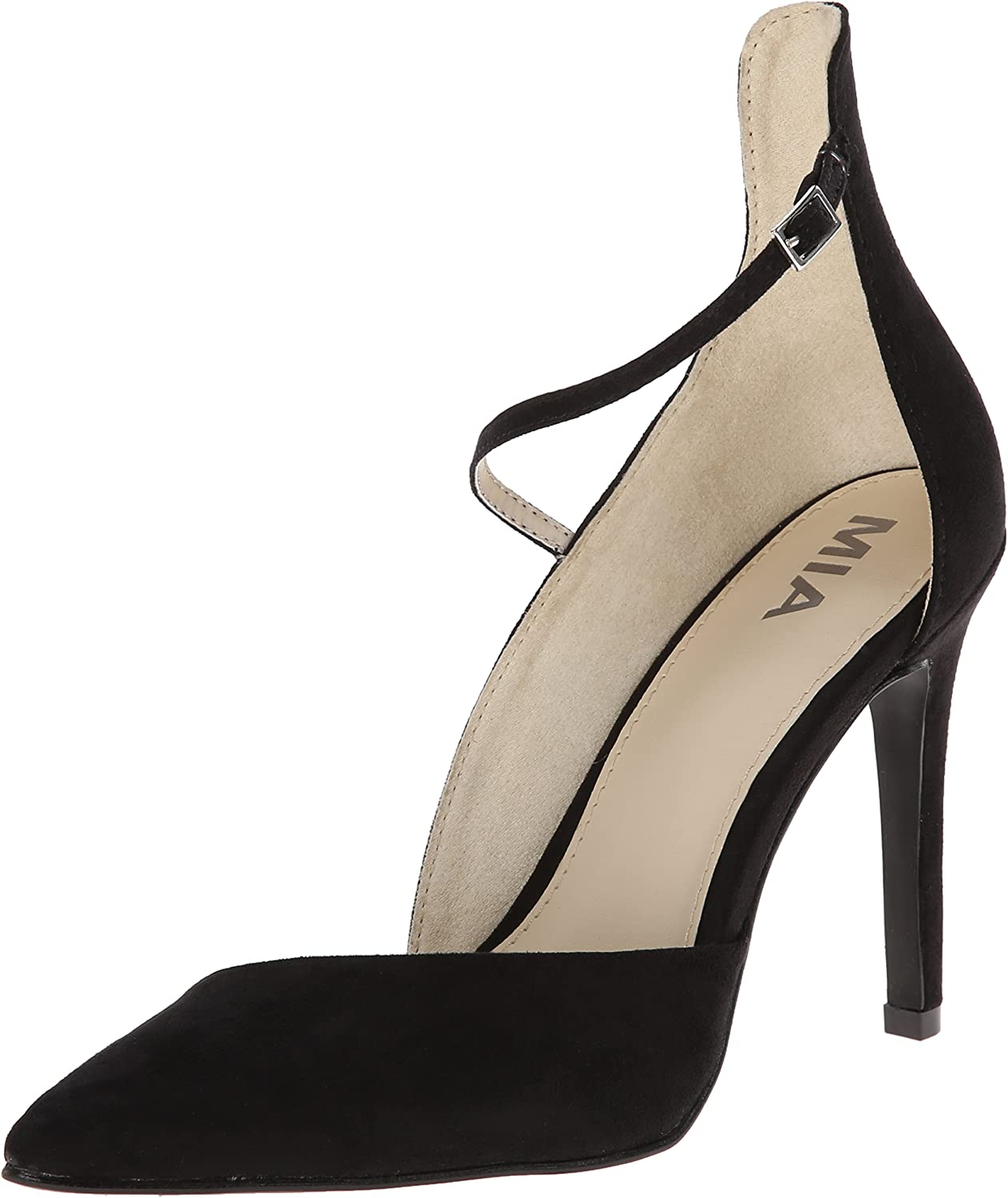 MIA shoes Womens Mona Heel Black 7.5