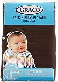 Graco Pack 'n Play Playard Sheet - Chocolate Brown