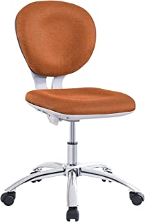 Adec - Silla Escritorio, Sillon para despacho, Silla Estudio Modelo Giocco, Color Naranja, Medidas: 86-92 cm (Altura) x 60 cm (Ancho)