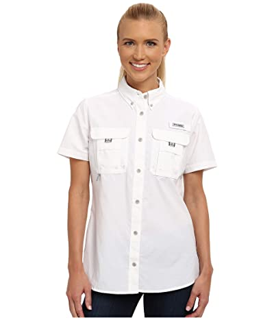 Columbia Bahamatm S/S Shirt (White) Women