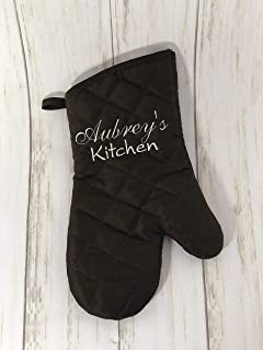 Best personalised embroidered oven gloves Reviews