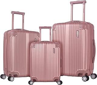 Hardside Spinner 3-Piece Luggage Set, Champagne / Rose Gold