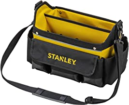 Stanley STSTST1-70718 Open gereedschapstas (31 x 20 x 26 cm, acht buitenvakken, tien binnenvakken, binnenorganizer, 20 kg ...