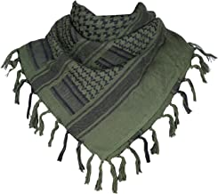 HDE Military Shemagh Neck Scarf Desert Tactical Style Head Wrap Keffiyeh Checkered Scarf