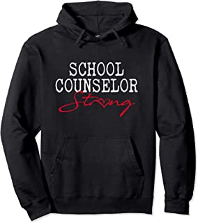 School Counselor STRONG Hoodie Counseling Teacher Gift