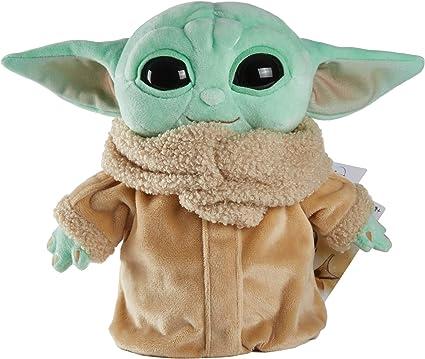 Amazon.com: Juguete de peluche de Star Wars, figura pequeña Yoda de 7.9 in de The Mandalorian, personaje de peluche coleccionable para los fans de películas de todas las edades, de 3 años y más : Juguetes y Juegos