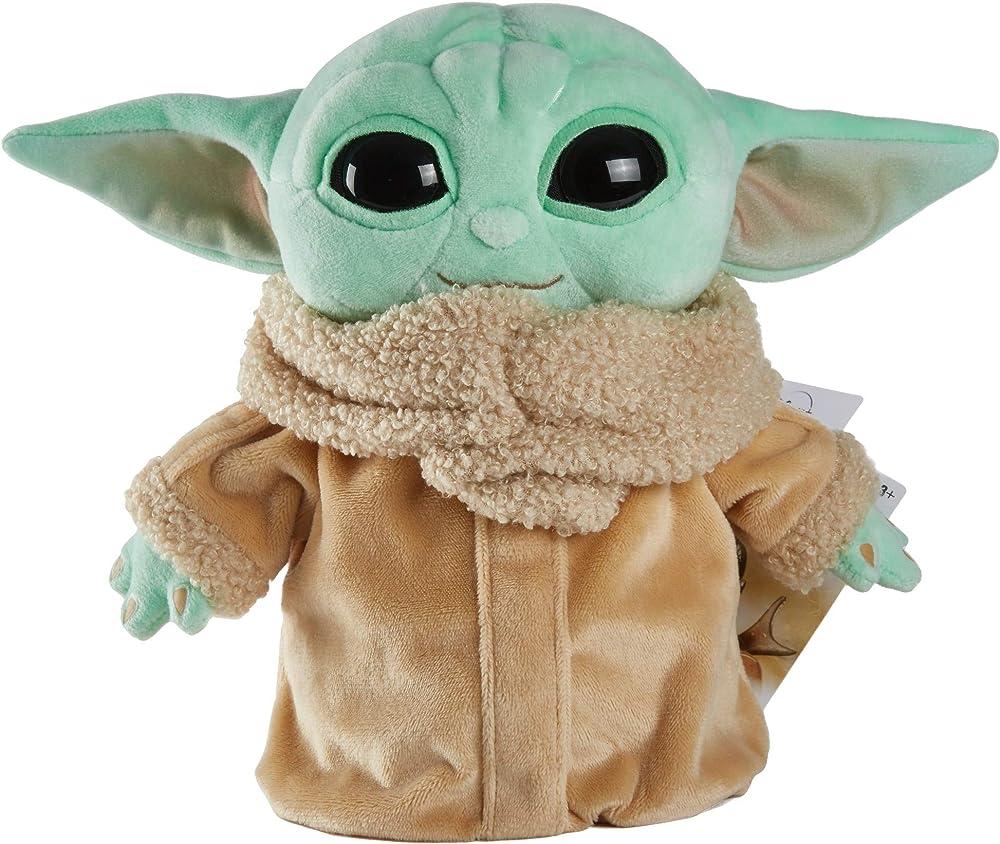 Pelouche Baby Yoda Mattel star wars, 20 cm GWH23