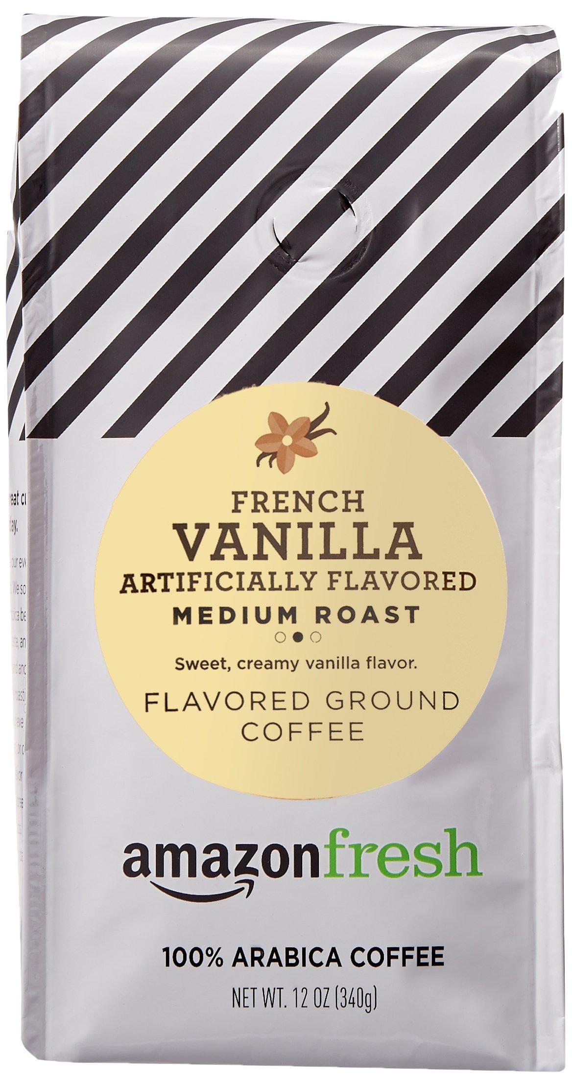 AmazonFresh French Vanilla Flavored Coffee