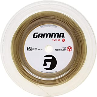 Gamma Sports 16g TNT2 Tennis String Reel, 360', Natural