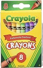 Crayola 52-3008 Crayons, Case of 48, 8 Count Each
