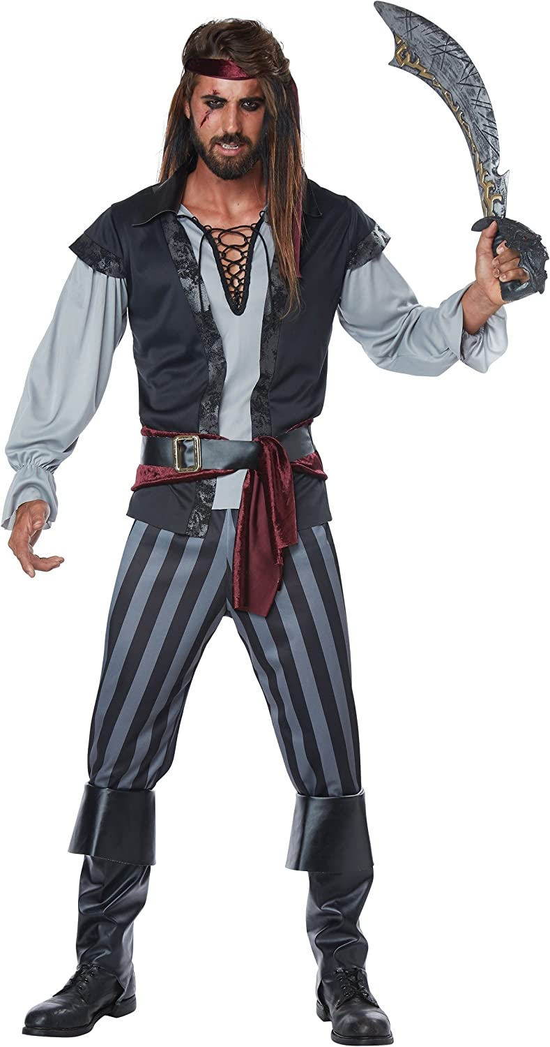 Luxury Mens Scallywag Selling and selling Costume Pirate