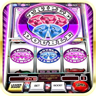 triple double diamond slot machine payout