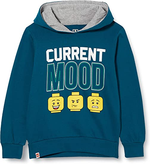 LEGO Mwb-Sweatshirt mit Kapuze Felpa con Cappuccio Bambina