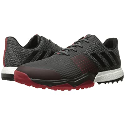 adidas Golf Adipower S Boost 3 (Onix/Core Black/Scarlet) Men