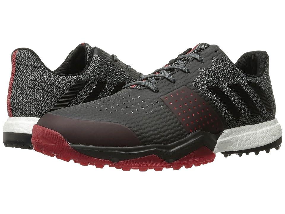 adidas Golf Adipower S Boost 3 (Onix/Core Black/Scarlet) Men