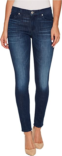 Hudson - Nico Mid-Rise Super Skinny in Bright Eyes