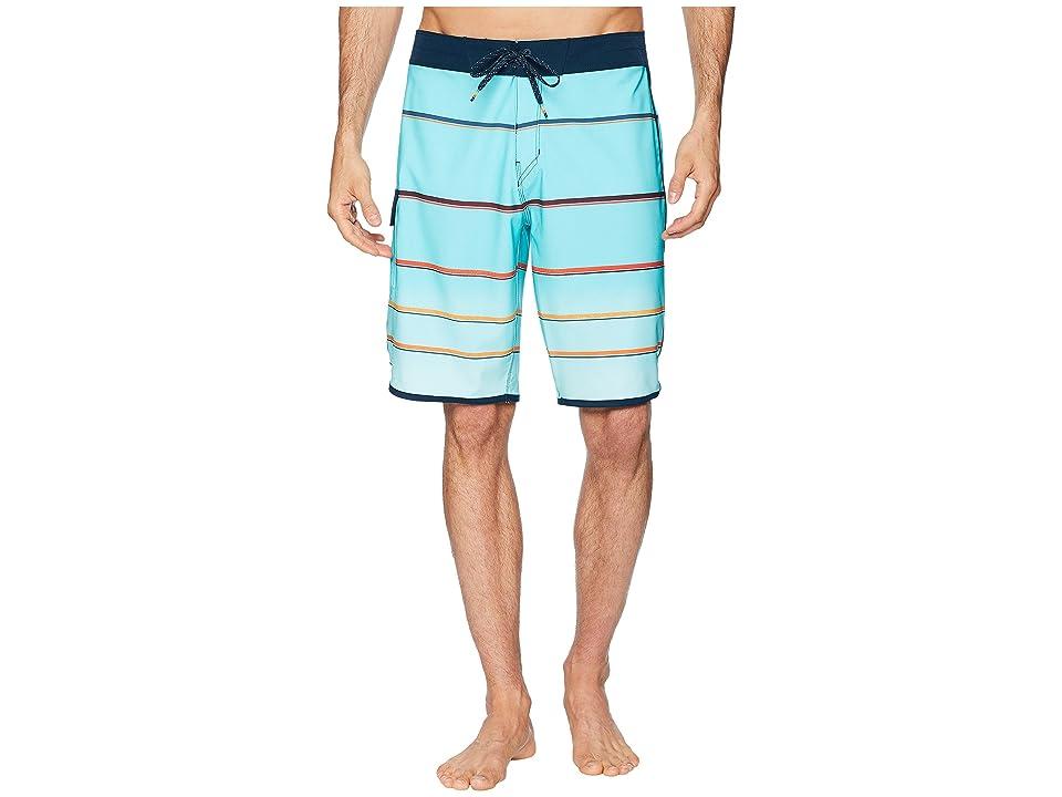 Billabong 73 X Stripe Boardshorts (Mint) Men
