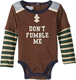 Football Long Sleeve One-Piece Crawler (Infant)