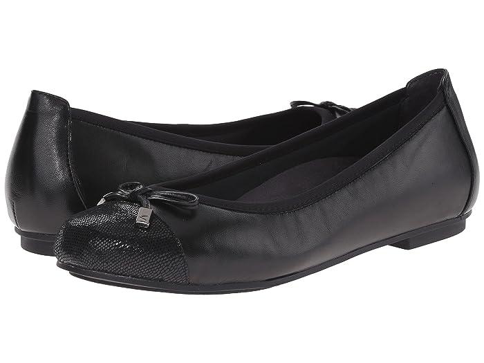 VIONIC  Minna (Black) Womens Flat Shoes