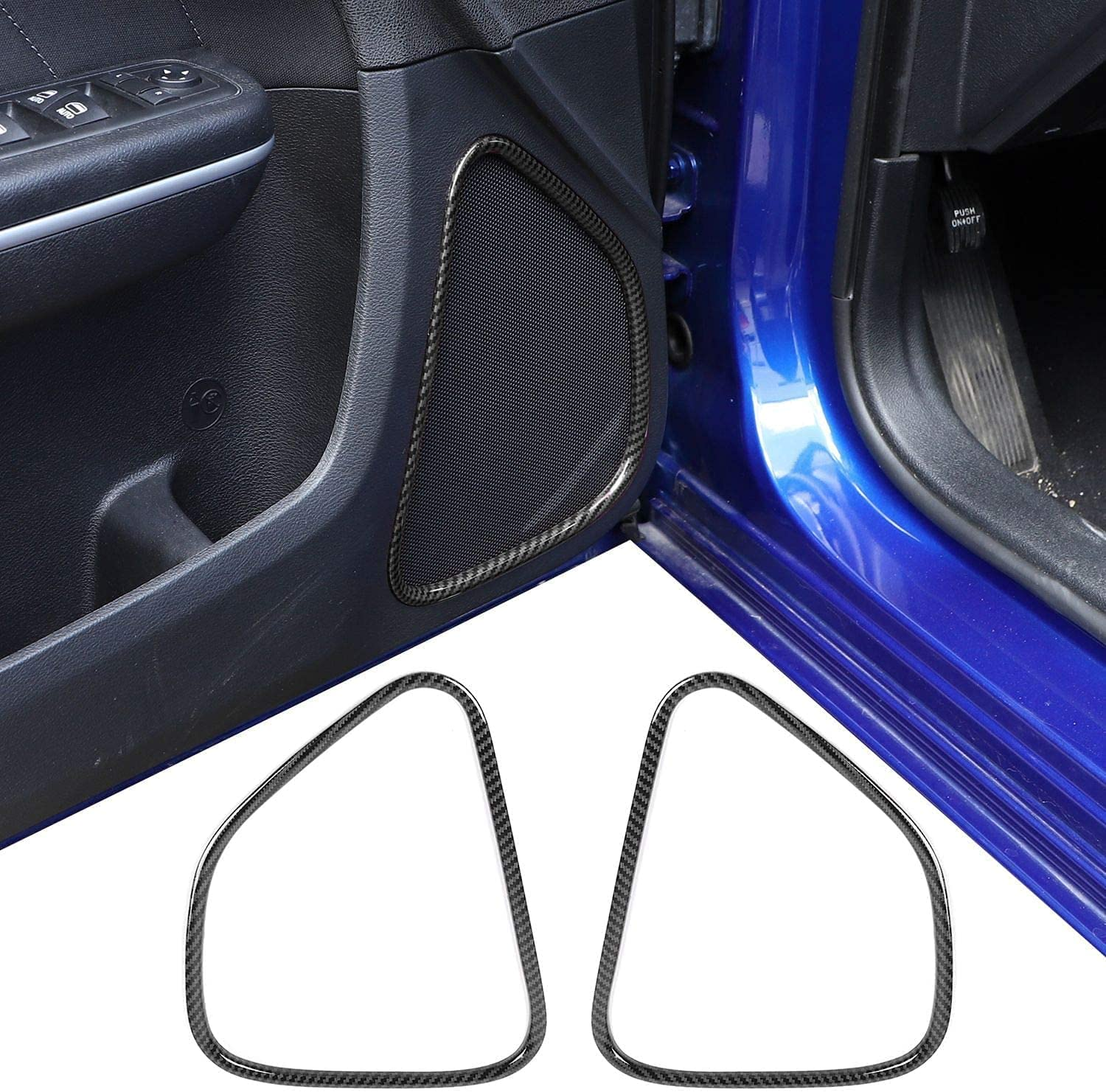 Hoolcar Colorado Springs Max 46% OFF Mall Inner Door Speaker Cover for Trim Charger Dodge 2011-202