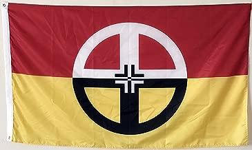 2But Native American Indian Healing Flag Banner 3x5 Feet