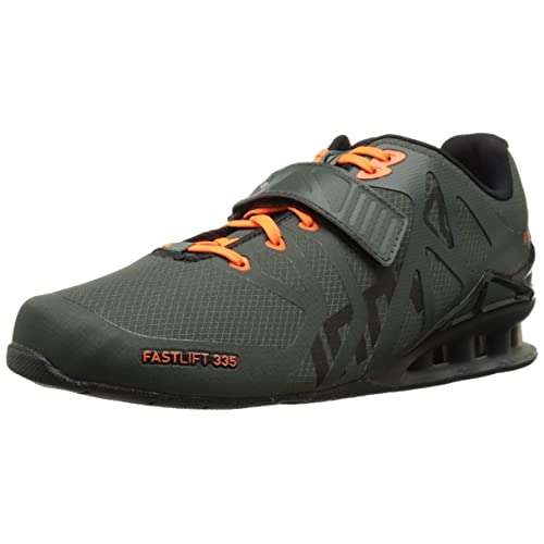 1f54d1946eb Inov-8 Mens Fastlift 335 - Powerlifting Weight Lifting Shoes - Wide Toe Box  -