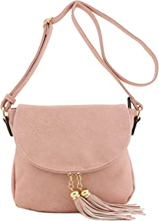 45afd4c027d Amazon.com: blush crossbody bags for women - 4 Stars & Up / Handbags ...