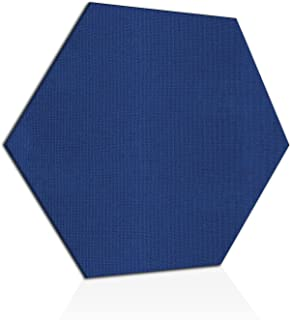 """ADW Acoustic Panels 24"""" X 24"""" X 1"""" Hexagon – Quick Easy DIY Install – See Our Many Color Choices"""