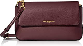 Karl Lagerfeld Paris IRIS Hermine Flap Crossbody