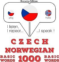 Czech - Norwegian. 1000 basic words: I listen, I repeat, I speak