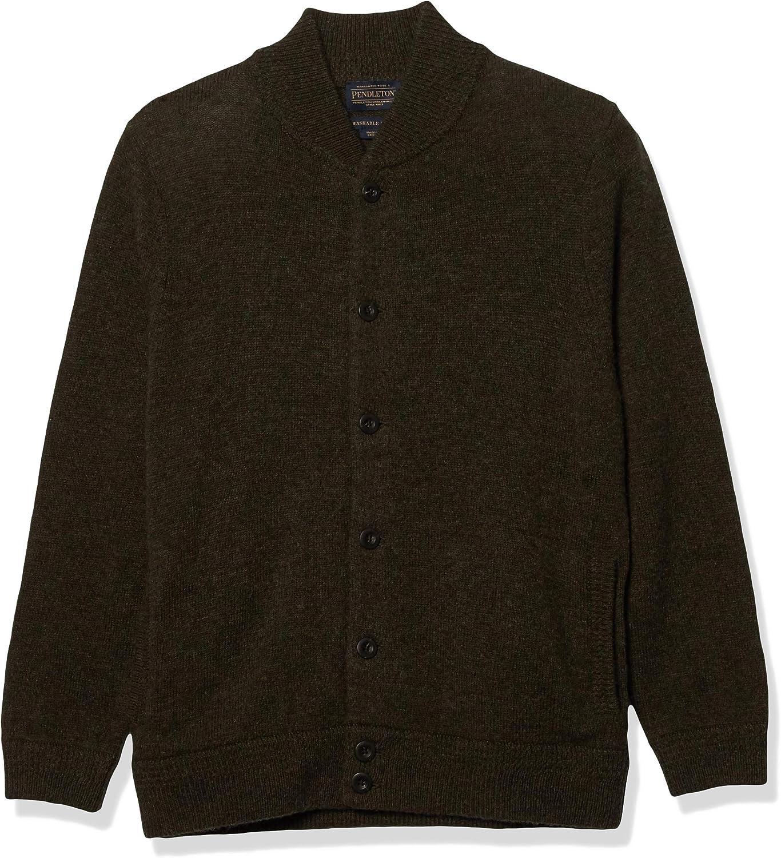 Pendleton Max 81% OFF Selling rankings Men's Shetland Bomber Cardigan Sweater Style