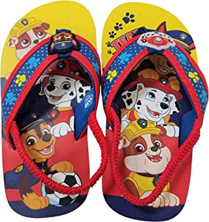 Paw Patrol Boys Flip-Flops Sandals with Chase Marshall