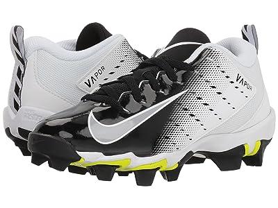 Nike Kids Vapor Untouchable Shark 3 Football (Toddler/Little Kid/Big Kid) (White/Wolf Grey/Black) Kids Shoes