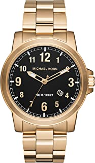 Men's Paxton Gold-Tone Watch MK8555