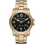 Men's Paxton Gold-Tone Watch MK8555